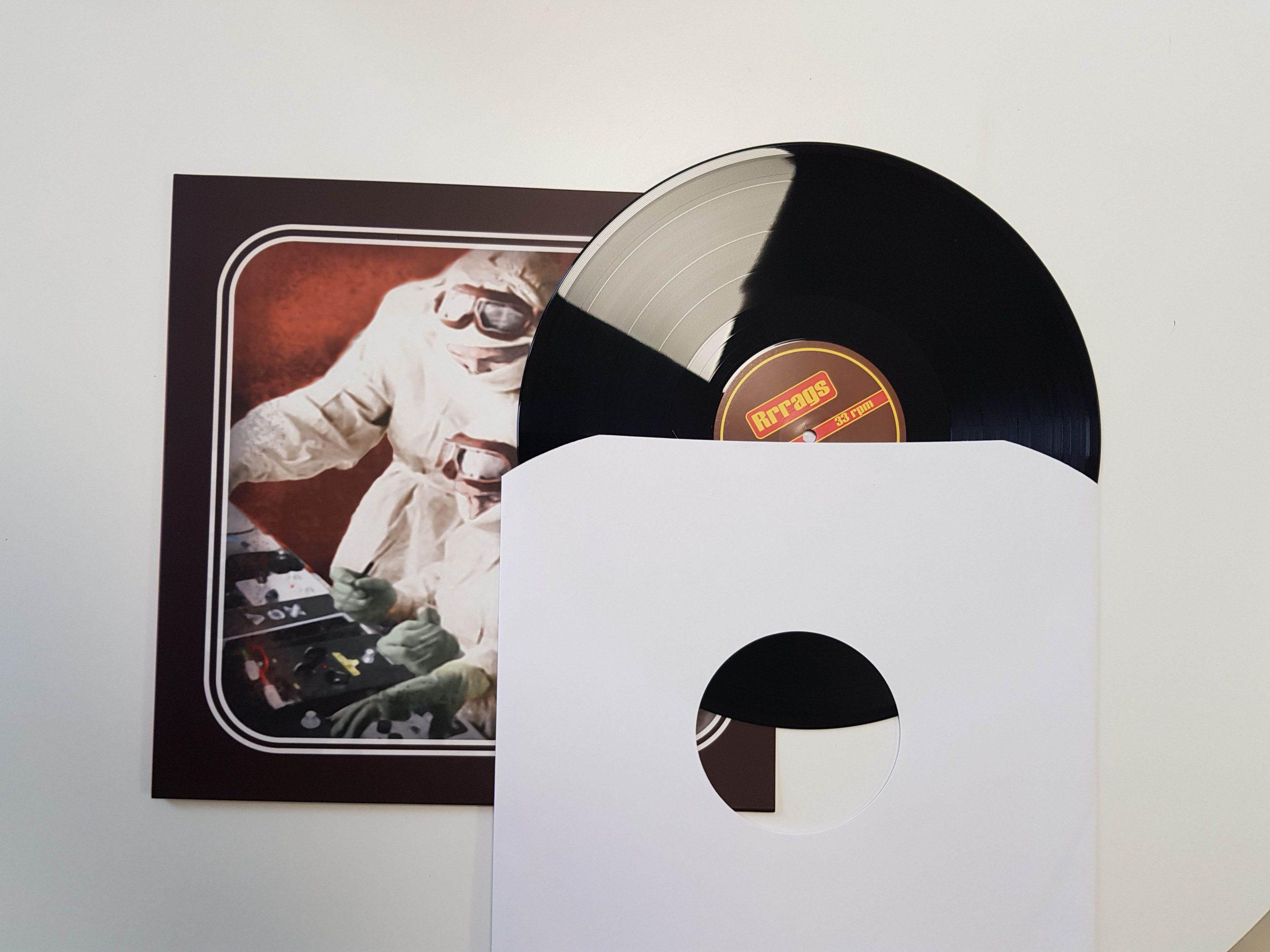 vinylplaat met binnen en buitenhoes